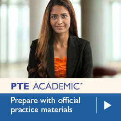 PTE ACADEMIC. Prepare with official practice materials